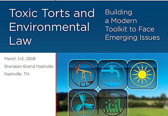 MRC Houston at DRI Toxic Torts and Environmental Law Conference